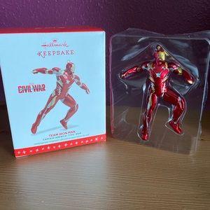 Hallmark Keepsake Team Iron Man Ornament NIB